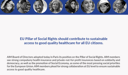 AIM adopts position on the Pillar of Social Rights
