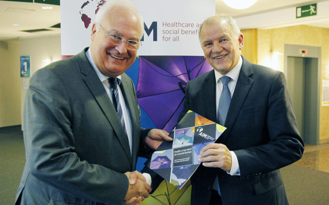 AIM kicks off European Election Campaign together with EU Commissioner Andriukaitis