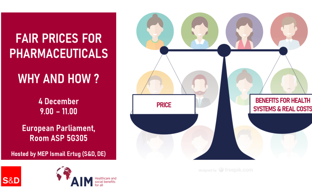 Fair medicines prices are needed for European patients